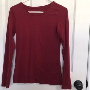 """The Limited """"Perfect Tee"""" Size Small Maroon Red"""